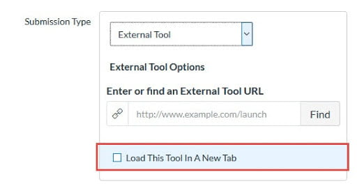 Load this tool in a new tab option when using third-party tools